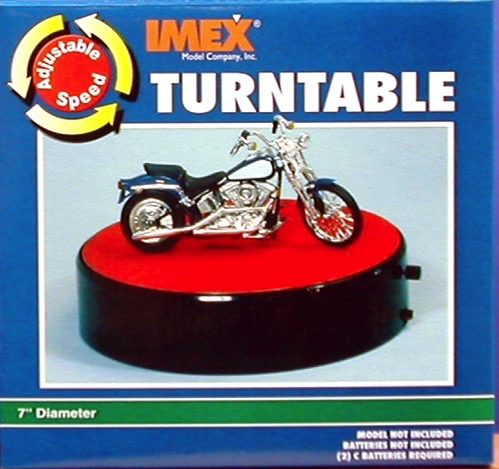 Turntable Display Motorized By Imex Models
