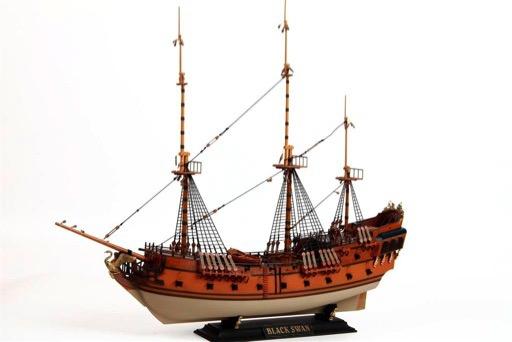 Scalehobbyist Com  Black Swan Pirate Ship By Zvezda Models