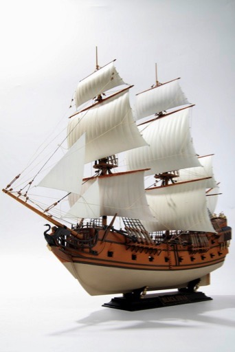 Scalehobbyist Com  Black Swan Pirate Ship By Zvezda Models